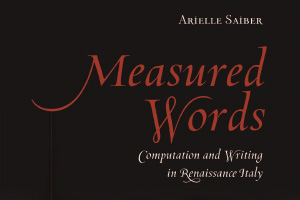 Measured Words by Arielle Saiber